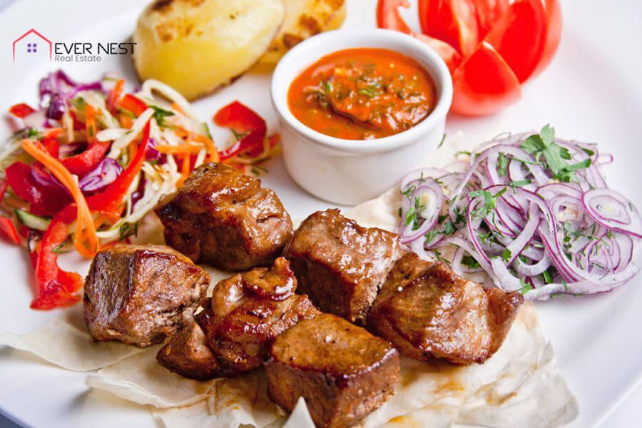افیلیا،غذای معروف قبرس شمالی